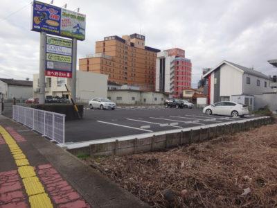 丸栄コンクリート工業(株)様駐車場舗装工事
