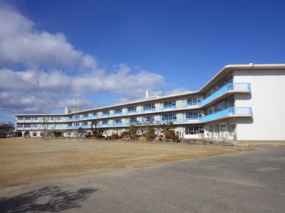 松枝小学校改修工事