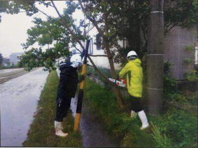 令和3年度 羽島市内での伐採、草刈のボランティア