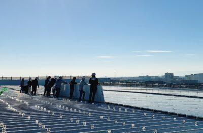 株式会社陽光様 太陽光発電所建設工事