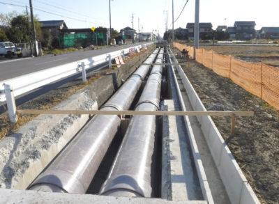 東幹線用水路第1号工事
