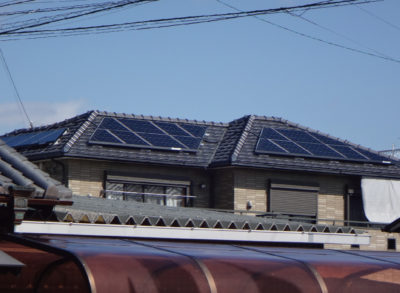 屋根上設置工事